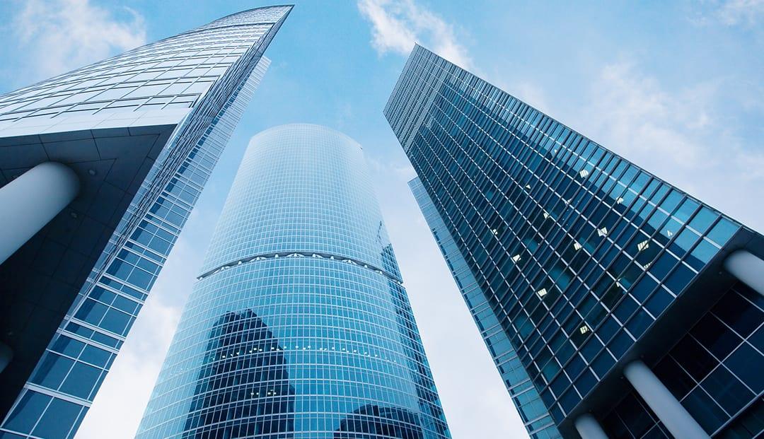 Hệ mặt dựng nhôm kính phù hợp cho các công trình kiến trúc văn phòng cao cấp
