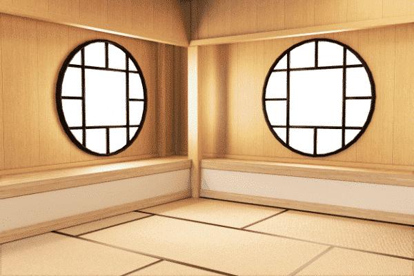 Cửa sổ mang phong cách Nhật Bản