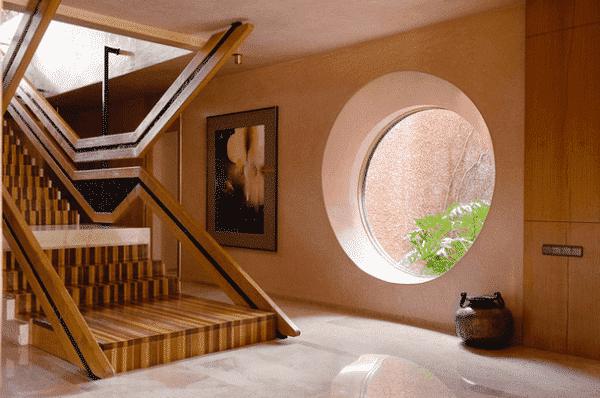 Tăng sự độc đáo của lối kiến trúc không gian