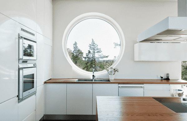 Cửa sổ sử dụng nhôm kính làm tăng tính thẩm mỹ cho không gian