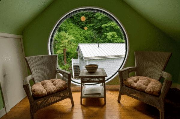Không gian đọc sách, thư giãn tuyệt vời