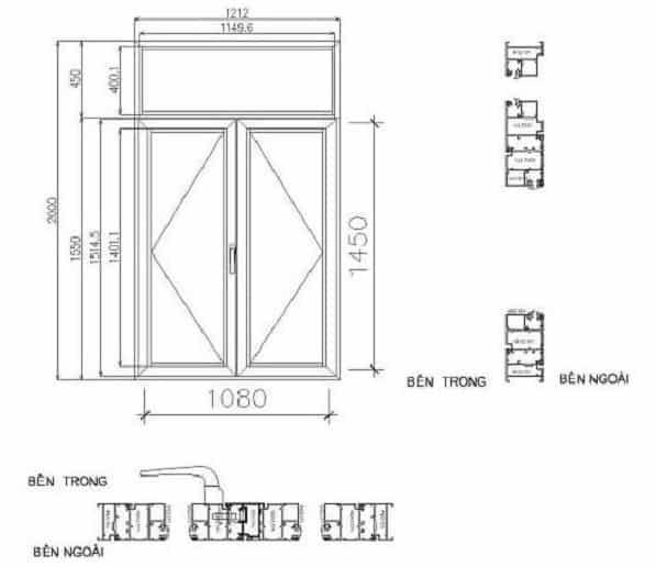 Kích thước cửa theo phong thủy giúp gia chủ thịnh vượng hơn