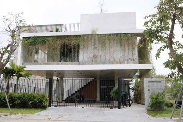 Kiến trúc công trình như được tô vẽ thêm bởi nhôm anode niken